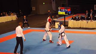 Greece v Bulgaria - Male Team Sparring Final