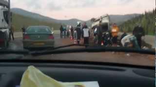 حادث مرور على الطريق السيار نواحي عين الدفلى