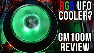Cooler Master G100M Review - Can it Handle The Ryzen 7 1800x?