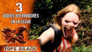 3 VIDEOS QUE DEMUESTRAN QUE EN LA SELVA HAY ALGO EXTRAÑO @OxlackCastro