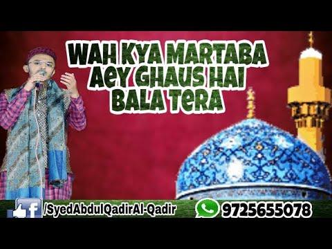 Wah Kya Martaba Aey Ghaus hai (Islah-e-Muaashra Conference) by Syed Abdul Qadir Al-Qadri 2017