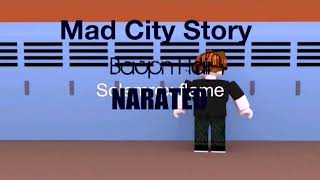 Mad City Bully Story NARATED Bacon Hair Animation [Roblox]