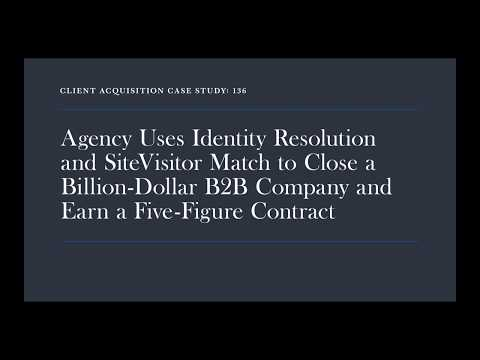 VIDEO Case Study: Identity resolution for a Software Engineering Company