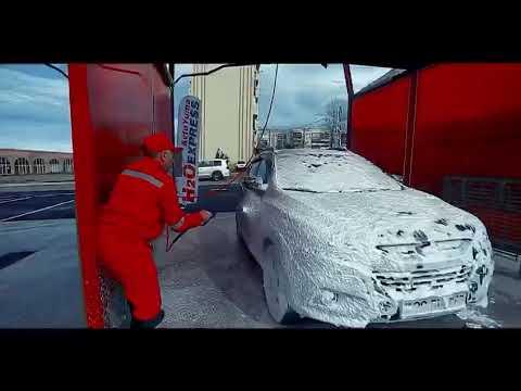 Мийка самообслуговування в Азербайджані l self-service car wash in Azerbaijan by WasherCAR