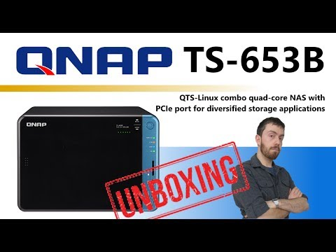 The QNAP TS-653B-8G 6-Bay NAS for 2017 Unboxing and