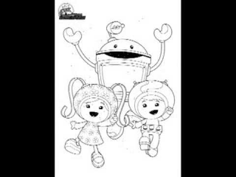 team umizoomi coloring pages to print - Team Umizoomi Coloring Pages