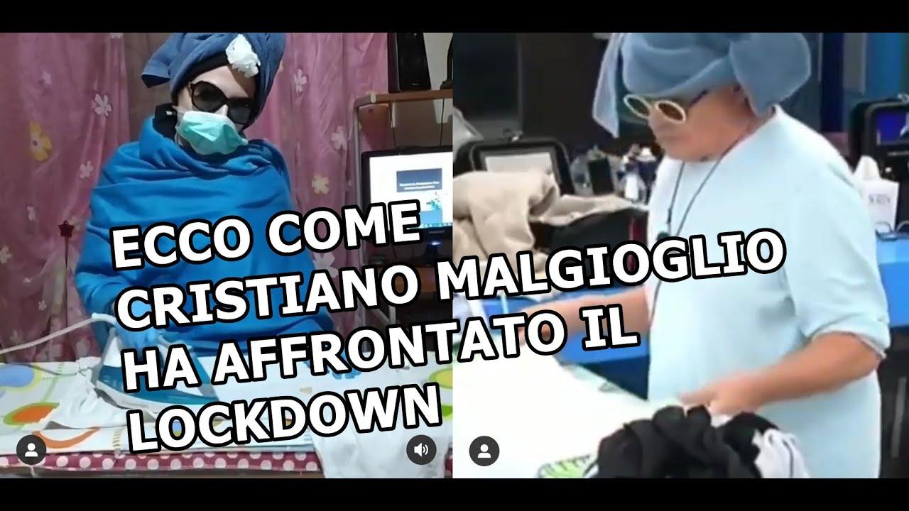 ECCO COME CRISTIANO MALGIOGLIO HA AFFRONTATO IL LOCKDOWN   Incredibilmente Disagiata