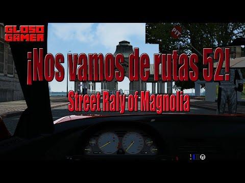 Assetto Corsa: Nos vamos de Rutas 52 -  Street Rally of Magnolia