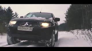 Обзор Mitsubishi L200 часть1/Лучшая машина для развлечений