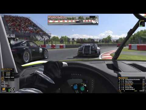 iRacing - Live - Porsche  Cup - Montreal- onboard with David De Wit