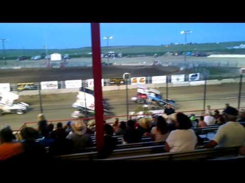 Sprint car's at El Paso County Speedway July 25 20