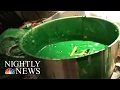 This Dad is Melting Down Thousands of Crayons to Help Children in Need | NBC Nightly News