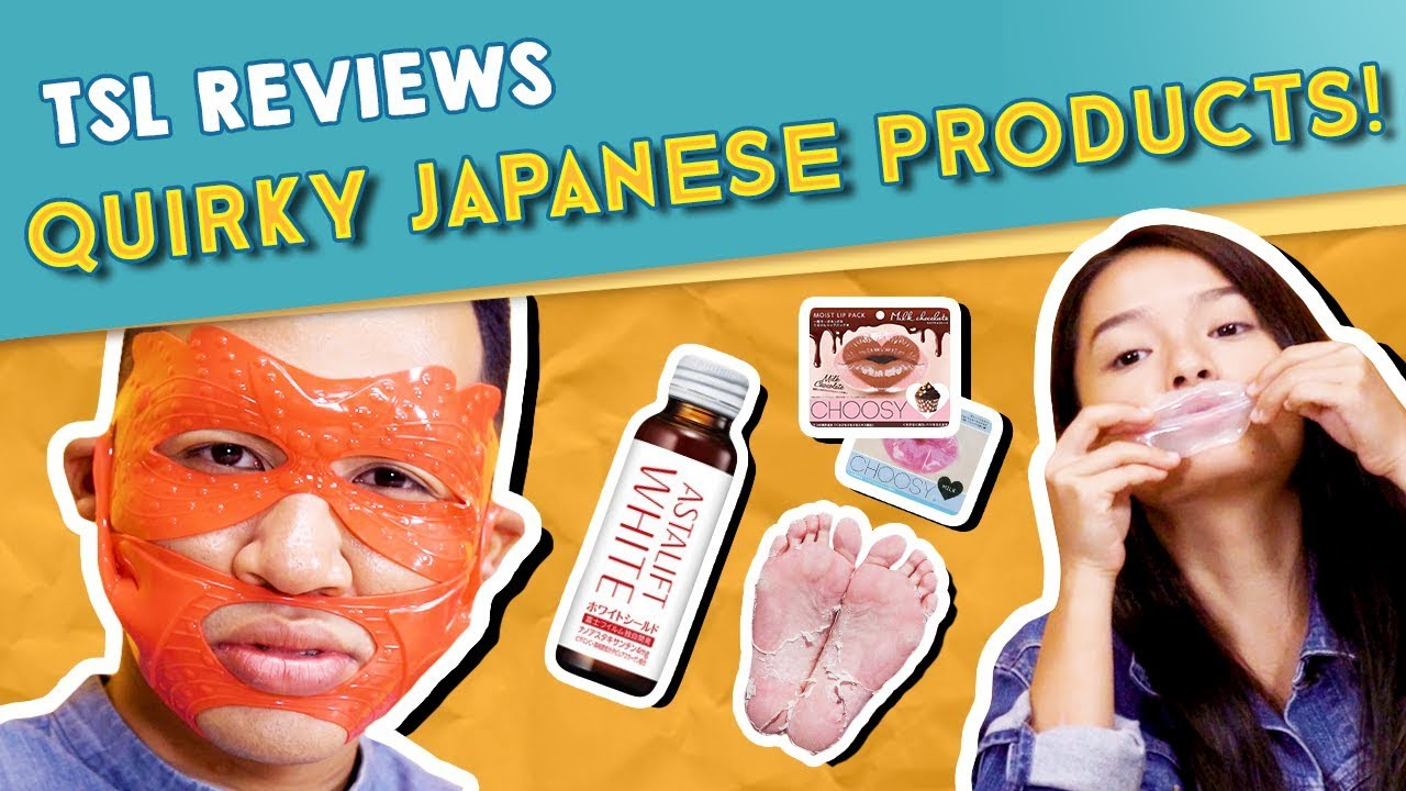 TSL Reviews: QUIRKY JAPANESE PRODUCTS + GIVEAWAY!