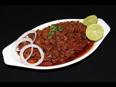 hyderabadi keema - mutton keema curry recipe - how to make mutton keema -  YouTube
