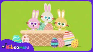 Easter Songs For Kids | The Kiboomers | Let's Rock To Get Ready For Easter | Easter Eggs | Rabbit