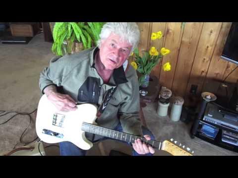 Terry Jacks Plays Seasons In The Sun rift on his original guitar