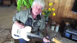 Terry Jacks Plays Seasons In The Sun rift on his original guitar