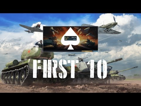 Repeat War Thunder First 10 - Type 74 with Type 93 APFSDS by