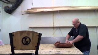 "Upholstery ""how To Upholster A Bar Stool"""