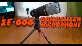 UnBoxing || Конденсаторный микрофон SF-666(, 2015-12-17T16:16:22.000Z)