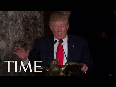 Donald Trump Applauds Hillary Clinton At His Inaugural Luncheon | Donald Trump Inauguration | TIME