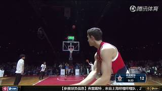 "The Lonely Master (Jimmer Fredette) Highlight In CBA All-Star Three Pts Contest| ""寂寞大神""