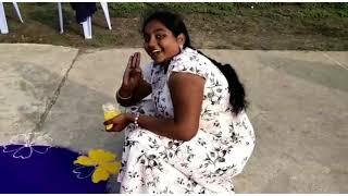 మా ఊరిలో భోగి రోజున జరిగిన ముగ్గుల పోటీలు.... || By sandhya || Telugammayi