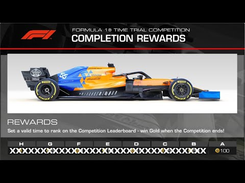 Real Racing 3 Formula 1 Time Trial Monza Hot Lap Group A With Braking & Acc. Points