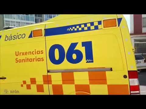 Un incendio en el extractor de un piso moviliza a los Bomberos de Lugo