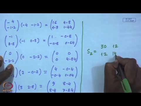 Mod-01 Lec-19 Multiple Discriminant Analysis (Tutorial )