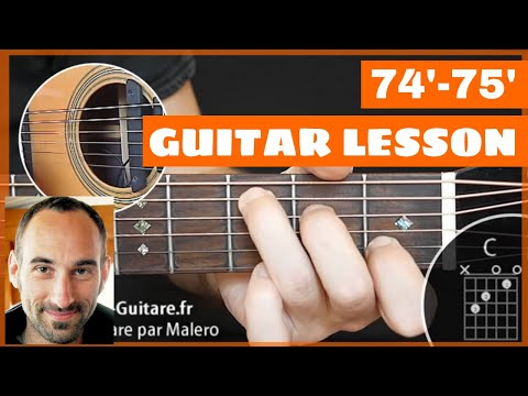 7475 Guitar Lesson  part 1 of 9