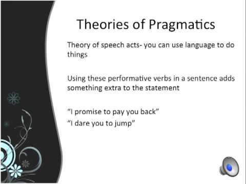 Pragmatic Language