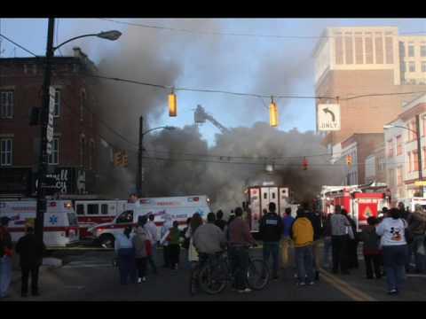 Massillon, Ohio Downtown Fire