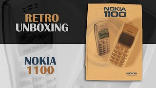 Nokia 1100 (2003) - Retro unboxing and review (Highest selling phone of ALL TIME)