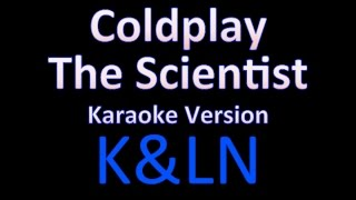 Coldplay - The scientist (Karaoke Version)