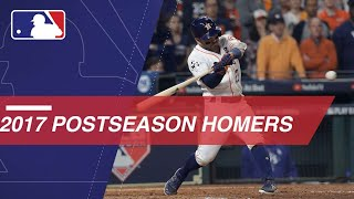 Watch all of the home runs in the 2017 Postseason