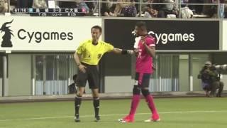 水沼 宏太(C大阪)がCKから弾かれたボールをダイレクトでゴール左隅へ...