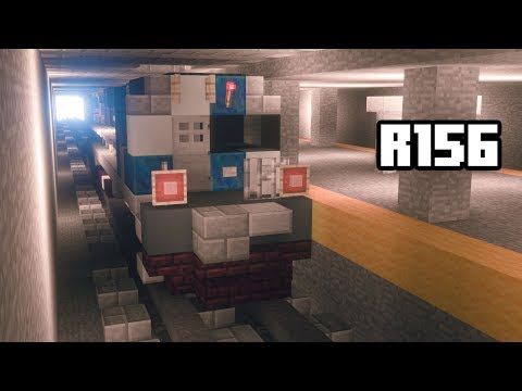 Minecraft MP8AC-3 R156 Subway Work Train Tutorial