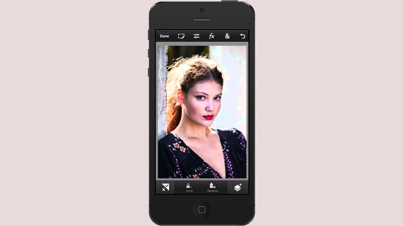 How to photoshop photos on iphone