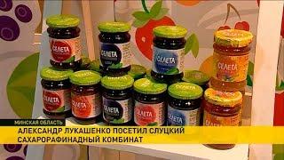 Александр Лукашенко совершил рабочую поездку в Слуцкий район