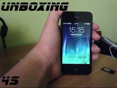 Unboxing iPhone 4s-HD-ita