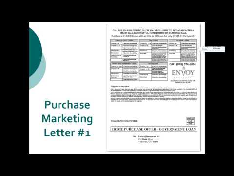 How to Market for Purchase Loans; Lender Explains HUD Back To Work Loan