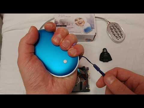 USB Hand Warmer Review & Teardown Pebble Hands Treasure NS-518 mobile Power Supply