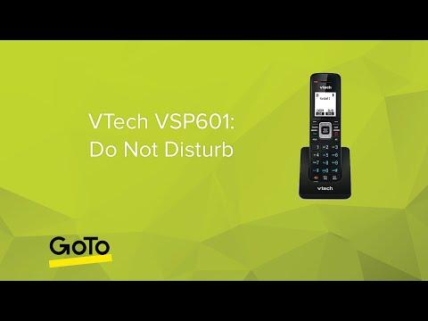 VTech VSP601: Do Not Disturb (DND)