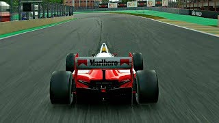 Gran Turismo Sport - Gameplay McLaren MP4/4 Formula @ Interlagos [1080p 60fps]