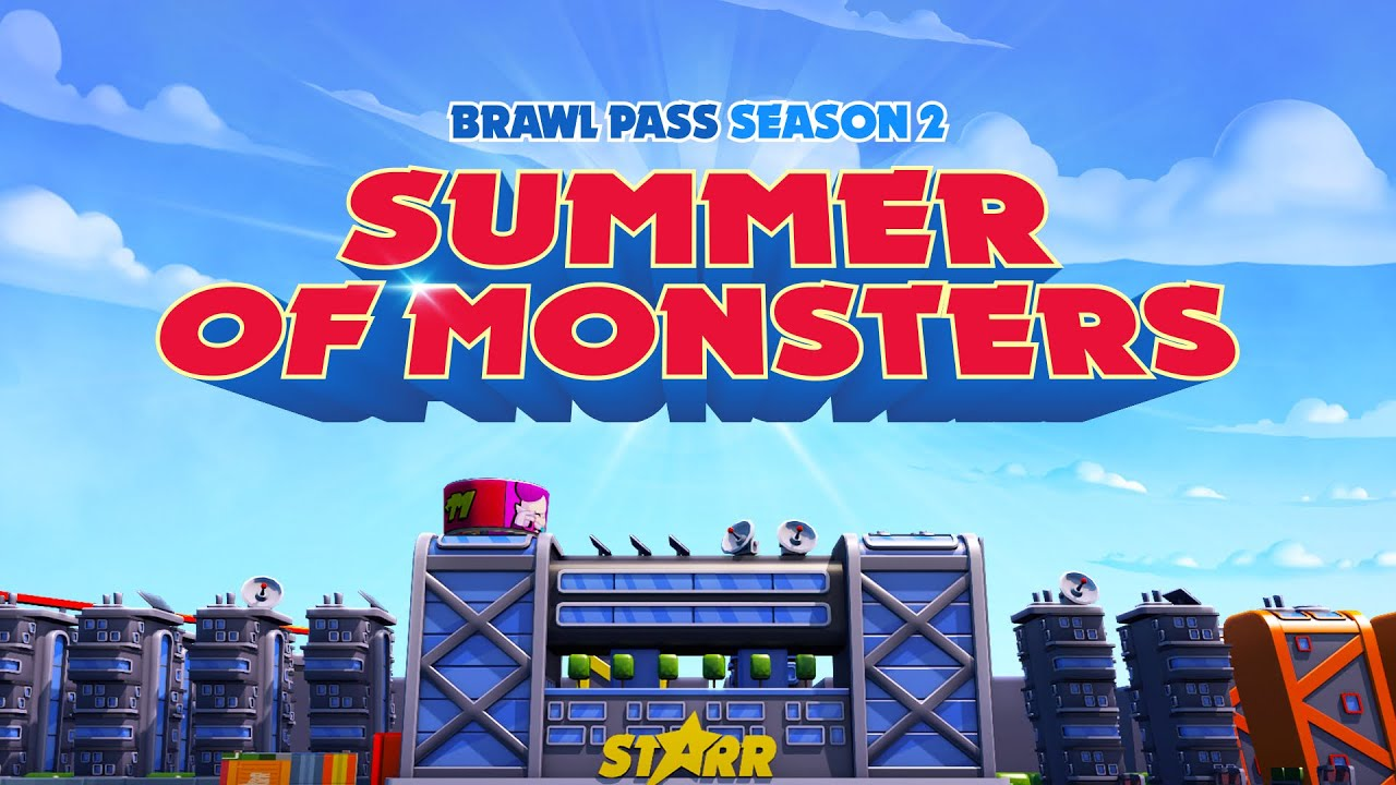 Brawl Stars Animation: Season 2 - Summer of Monsters!