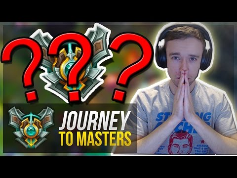 THE FINAL FEW GAMES... | Journey To Masters #39 - League of Legends