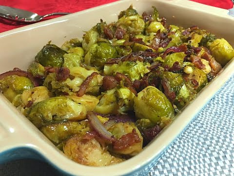 Brussels Sprouts With Bacon & Onions Recipe - Episode #274