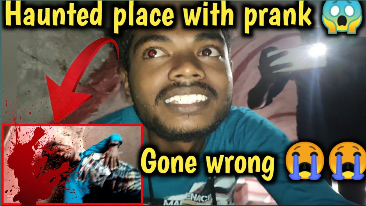 haunted place with prank 😱 gone wrong 😭| Fun with vlog-01 |Tom vijay| Rayakottai hill | stupid mind|