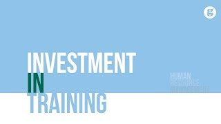 Investment in Training